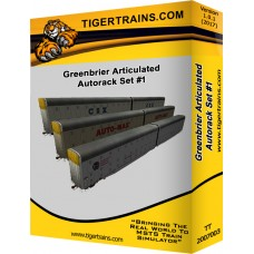 Greenbriers Articulated Autoracks Set #1