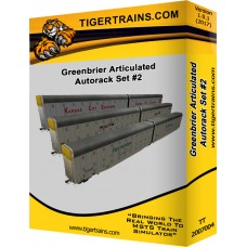 Greenbriers Articulated Autoracks Set #2
