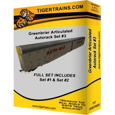Greenbriers Articulated Autoracks Set #3