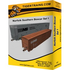 Norfolk Southern Box Car Set