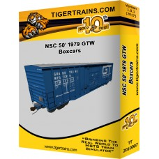 1979 NSC 50' Boxcars GTW