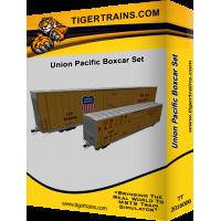 Union Pacific Boxcar Set
