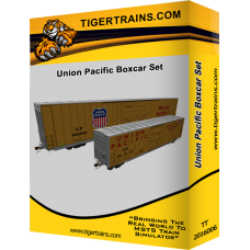 Union Pacific Boxcar Set