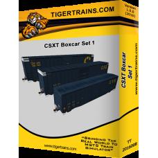 CSX Boxcar Set 1