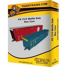 PS 7315 Waffle Side Cars