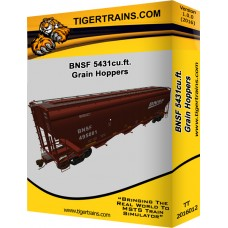 BNSF 5431cu.ft. Grain Hoppers