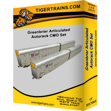 Greenbriers Articulated Autoracks CMO Set