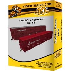 Thralldoor Boxcars Set #4