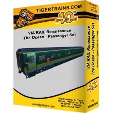 Via Rail Renaissance The Ocean Coach Set