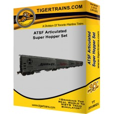 ATSF Articulated Super Hopper Set