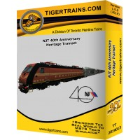 New Jersey Transit 40th Anniversary Trainset