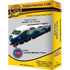 Sound Transit Trainset