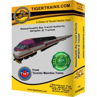 MBTA MP36PH-C Passenger Trainset