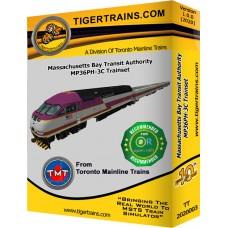 MBTA MP36PH-C Passenger Trainset