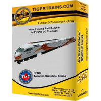 NMRX MP36PH-C Passenger Trainset
