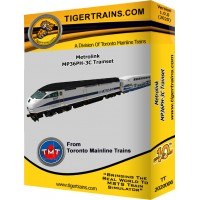 SCAX MP36PH-C Passenger Trainset