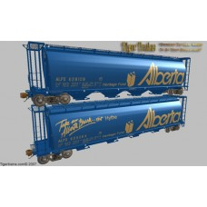 Canadian Pacific (ALPX) Alberta Grain Hoppers