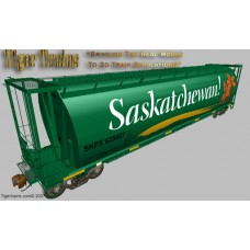 Canadian Pacific (SKPX) 2007 Saskatchewan Grain Hoppers