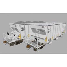 VULX (Vulcan Materials) NSC 2400cuft Aggregate Hoppers