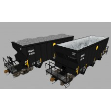 MWAX (Martin Marietta Materials) NSC 2400cuft Aggregate Hoppers