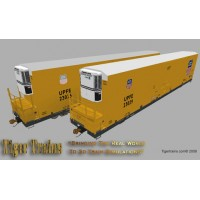 Union Pacific 75' UPFE Reefers