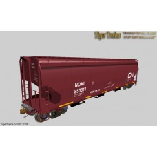 Canadian National (NOKL) Version NSC 5300cuft Grain Hoppers