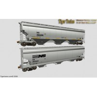 Norfolk Southern Version NSC 5150cuft Grain Hoppers