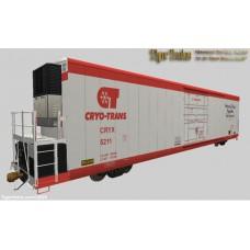 CryoTrans 72' Fibreglass Reefers