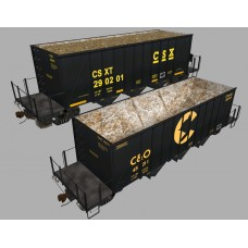 Ortner 3 Bay Aggregate Car Set #1