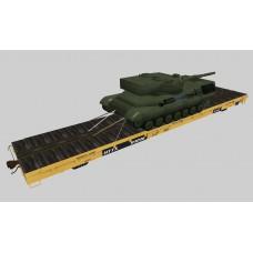 Military Flat Cars Set #1