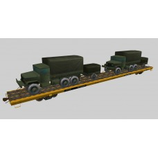 Military Flat Cars Set #2