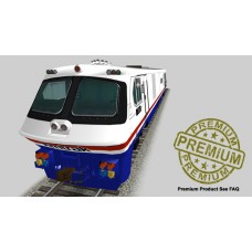 Bombardier LRC Trainset - Amtrak Edition