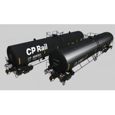 52' Tankers CPRail Diesel Tankers