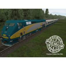 Via Rail LRC 2011 Trainset