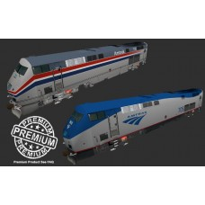 Amtrak P32AC-DM Engine Pack