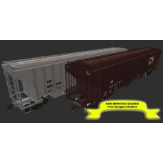 Canadian National Trinity 4750 ph2 Grain Cars