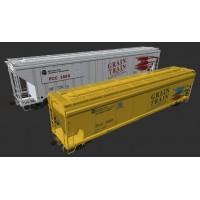 Washington State Grain Train Cars