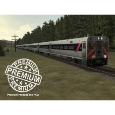 New Jersey Transit Passenger Trainset