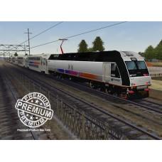 New Jersey Transit ALP45DP Trainset