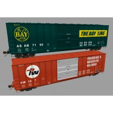 FMC 50' Mixed Boxcar Set FULL