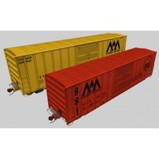 Vermont Railway FMC 50' Set