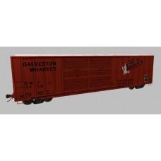 Galveston Wharves Boxcar Set