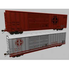 Sierra Railroad Boxcar Set