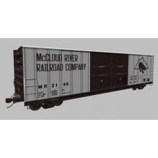 McCloud River Railroad Boxcar Set