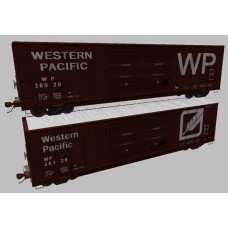 Western Pacific Boxcar Set