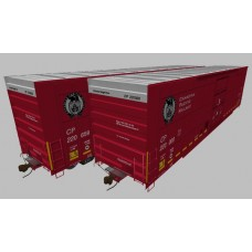 Canadian Pacific NSC SD Boxcar Set