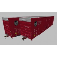 Canadian Pacific NSC DD Boxcar Set