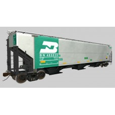 Burlington Northern 1994 Aluminum Grain Cars