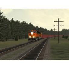 BNSF Ore Trainset