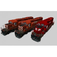Canadian Pacific SD40 Pack #2